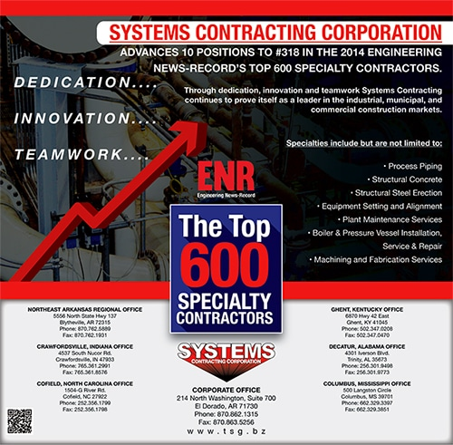 ENR 2014 Systems Contracting Advances